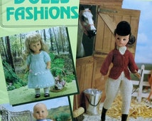 20%OFF Patons DOLLS FASHIONS For Baby Toddler Teenage Dolls - Crochet Doll Pattern Booklet