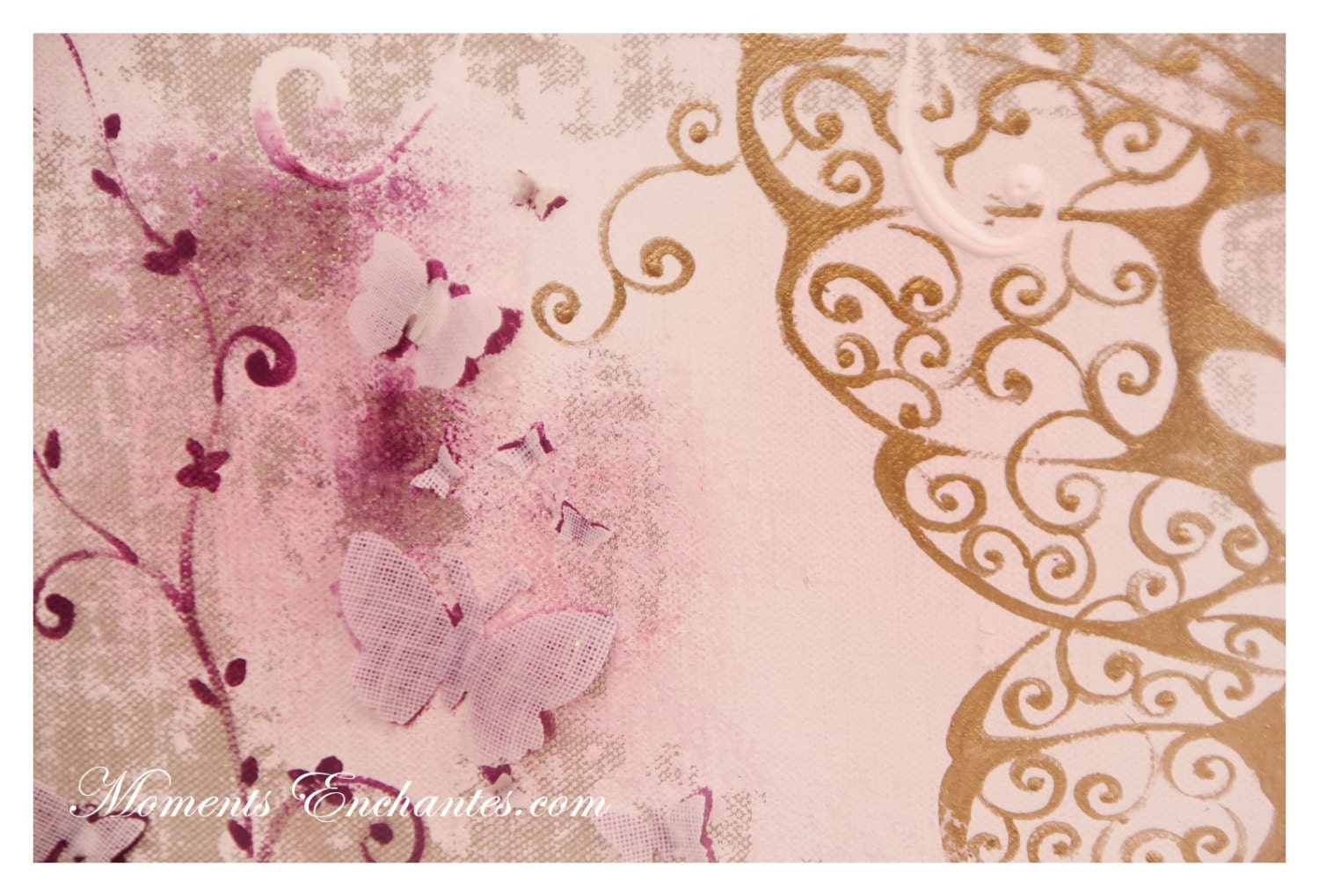 album photo mariage souvenirs butterfly ornements wedding baby shower guestbook scrapbooking. Black Bedroom Furniture Sets. Home Design Ideas