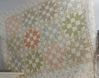 Porch Swing quilt kit...pattern designed by Mickey Zimmer