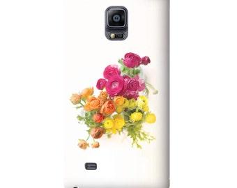 iPhone 7 case, iPhone 7 plus caseFloral iPhone 6 case, Samsung Galaxy S7 case, iPad case orange pink yellow flowers iPhone 6 plus, Galaxy S6