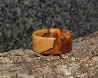 Size 12 - Olive Wood Ring