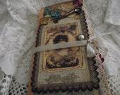 Shabby Chic Junk Journal Hand made