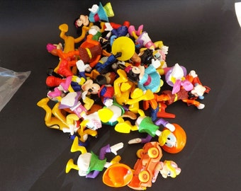 25 Vintage Disney Toys, Happy Meal Toys, Stocking Stuffers, Cake Decoration, Party Supplies, Boy and Girl Toy, Party Favor, Kids Reward Toy