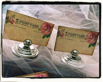 Vintage Inspired Shabby Place cards (set of 100)