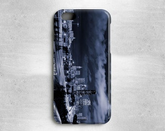 Seattle Skyline iPhone Case - Available for iPhone X, iPhone 8, iPhone 7, iPhone 6S, 6S Plus, iPhone 6, iPhone 5s, iPhone 5c, iPhone 4s