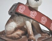 Dog Collar -  ' Cappuccino ' -  50% Profits to Dog Rescue
