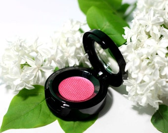 Compact eyeshadow powder - RASPBERRY - AR70 - Vegan - Natural makeup - Pressed powder - Compact powder - Eyeshadow palette