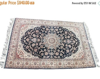HAPPY SUMMER 10% OFF Discounted 4.5x7 Vintage Pak Persian Rug