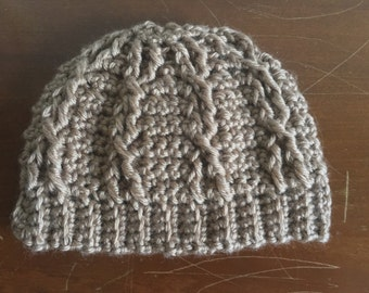 Little Mister Cable Beanie - Made to Order