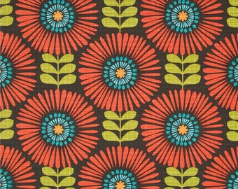 Fringe Flowers Fabric.