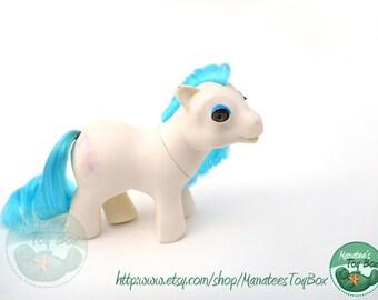 Vintage My Little Pony Baby Sleepy Pie with Beddy Bye Eyes by Hasbro TLC