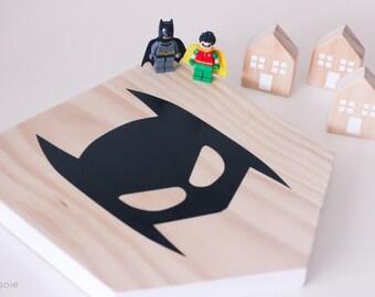 Batman Mask Plaque