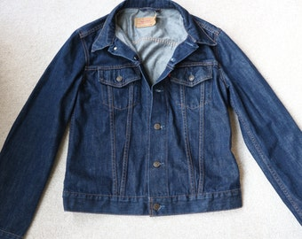 Dark denim Levi red tab girl's jacket size L