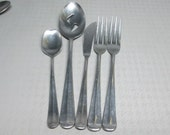 LIBERTY BELLE SCC stainless steel japan 5 pieces serving spoon fork
