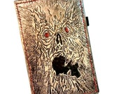 The Evil Dead - necronomicon book - Ereader - handmade - leather -  Gift - Ipad - Ipad Mini - Kindle Fire - Samsung Tablet - Geek Gift