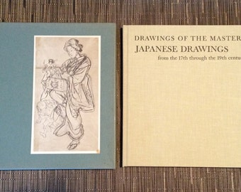 Japanese Drawings from the 17th through the 19th Century (Drawings of the Masters) by Jack Ronald Hillier - 1965 - Hardcover