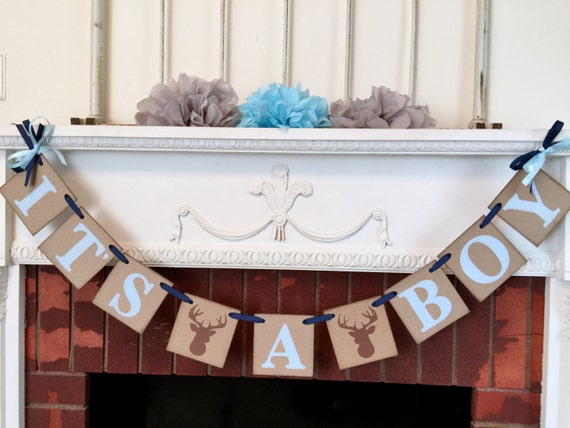 little buck baby shower decorations oh deer by anyoccasionbanners