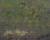 Original Oil Painting on Canvas by John Shanabrook - 16 x 20 - The Bremen Wood Pond