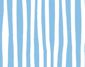 Baby Blue Stripe Fabric Gone Wild By Masha Dyans Design