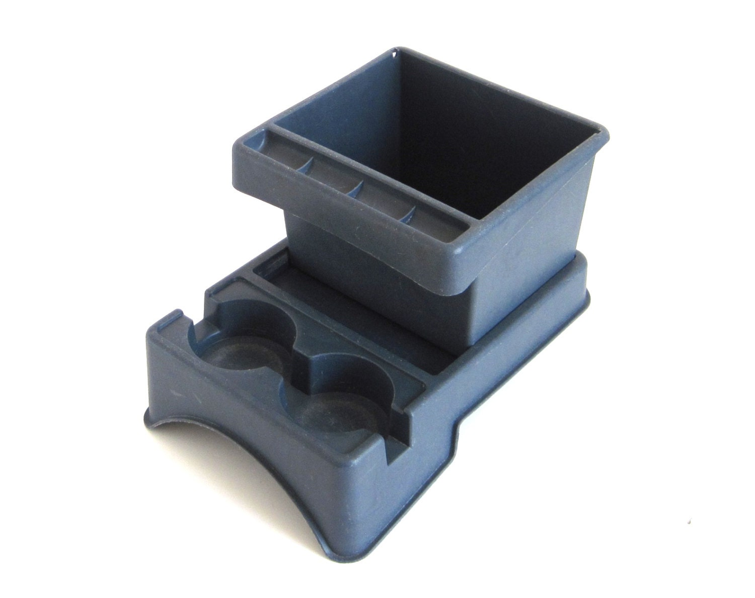 auto cup holder 1980s rubber queen car console 6243 blue. Black Bedroom Furniture Sets. Home Design Ideas