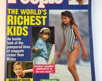 1992 People Weekly Magazine