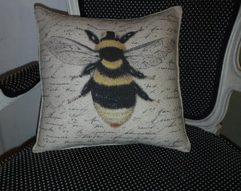 Color Bee Pillow Cover