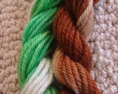 Mini Skein Sets, Starbucks Inspired Cuppa Coffee  - 20 yards each, total 40 yards a set