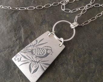 Kala Necklace ~ Bird