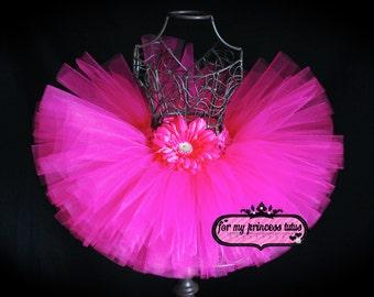 Pink tutu, hot pink tutu, birthday tutu, tutu, photo prop, newborn tutu, tutu, baby tutu, toddler tutu, bright tutu, girl tutu, baby shower