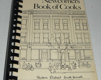 Norwalk Newcomers Book of Cooks Norwalk CT Vintage Cookbook