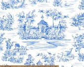 Custom Listing for Kathy - Annabelle - Toile by Williamsburg from Windham Fabrics - 17.5 yards (14+3.5 yards)