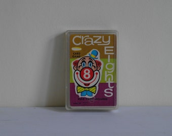 Vintage Crazy Eights Card Game - Whitman - Circa 1950