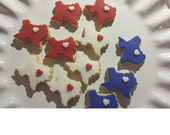 Custom listing for CINDY -   Mini State of Texas  Sugar Cookies  - Party Favors -