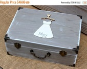 Fall Sale Bridesmaid Gift Will you be my Maid of Honor Memory Keepsake Box Love Letter Rustic Wedding Decor Custom (You Pick Color)