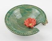 Impressionist Water Lily Jewelry Bowl