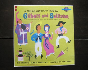 Vintage Record-A Child's Introduction to Gilbert and Sullivan-The Mikado-Songs
