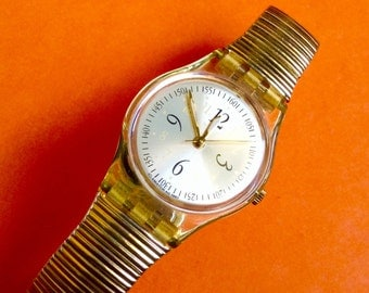SWATCH watch women's watch Vintage Wrist Watch Small Dial with original dial protector