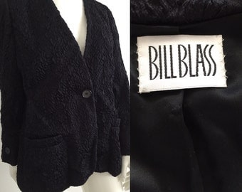 Vintage 1970s Bill Blass Evening Jacket Bust 42