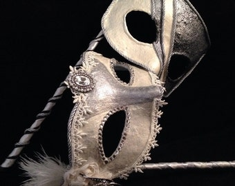 Bride and Groom - Custom Venetian Mask
