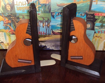 Ukulele Bookends