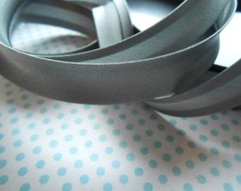 Satin Bias Tape Binding Lead Gray