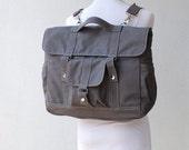 NEW YEAR SALE 30% - Sale Sale  30  Percent - Pico2 Backpack in Dark Grey (Water Resistant) Laptop / Shoulder Bag / Satchel / Rucksack / Mess