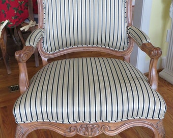 Custom Habersham French Style Chair - Estate Collection
