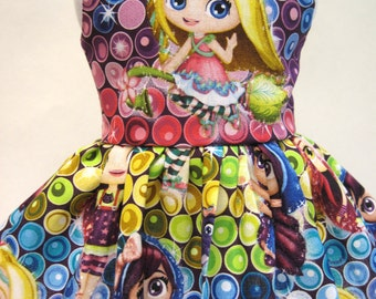 Little Charmers Sleeveless Dress for your American Girl Doll C