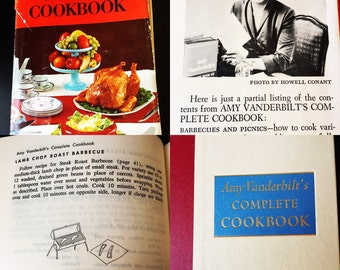 Amy Vanderbilt's Complete Cookbook - 1961
