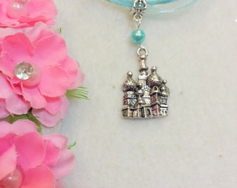 10 Aladdin and Jasmine's Castle Necklaces Party Favors. Color is Customizable.