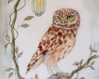 Card with Owl