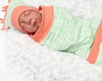 Baby Swaddling Sack- Baby Cacoon- Infant Swaddle- Swaddling- Swaddle- Lil Cleo