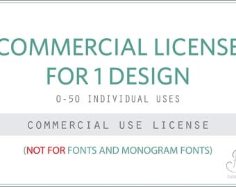 Commercial license for Rivka's Renditions Design(s) // 0-50 Uses