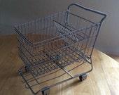 Mini Shopping Cart Grocery Cart Fruit Basket Organization Storage